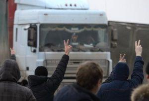 В России начались стихийные забастовки дальнобойщиков из-за тарифов на перевозку зерна