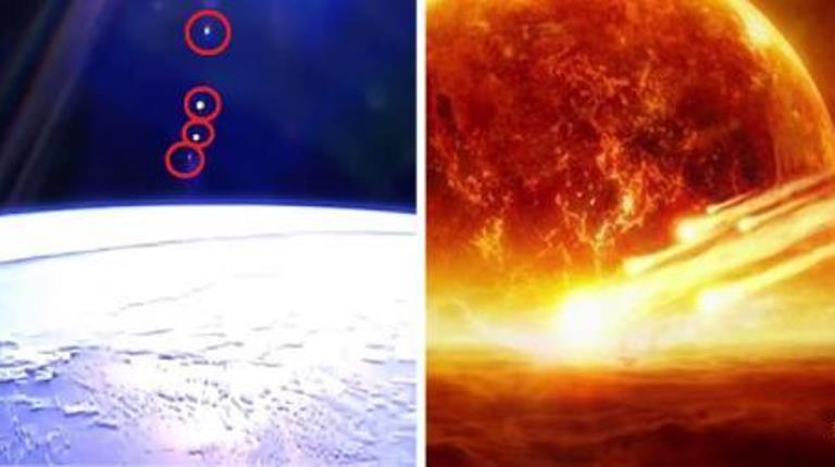 На видео с МКС разглядели Флот с Нибиру и летящий к Земле камень смерти: паника в Сети