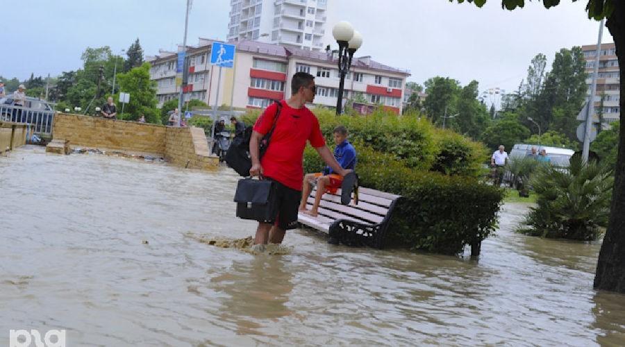 В Сочи готовятся к эвакуации населения из-за сильных дождей и подъема уровня рек