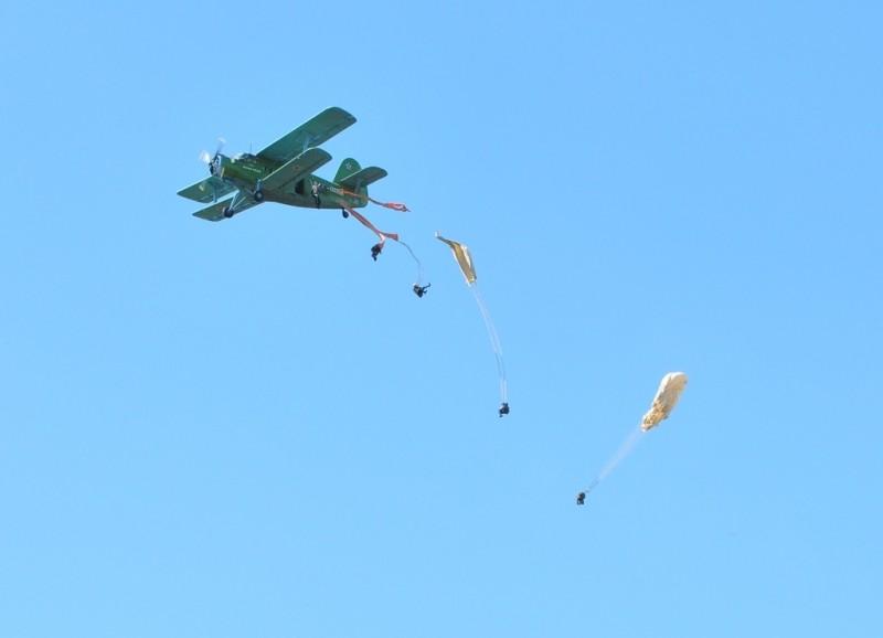 Женщина выжила после прыжка с нераскрывшимся парашютом с высоты 1,5 км