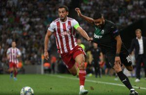 «Краснодар» проиграл греческому «Олимпиакосу» и вылетел из Лиги чемпионов