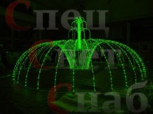 Светодиодный Фонтан – лучшее украшение для любой площадки