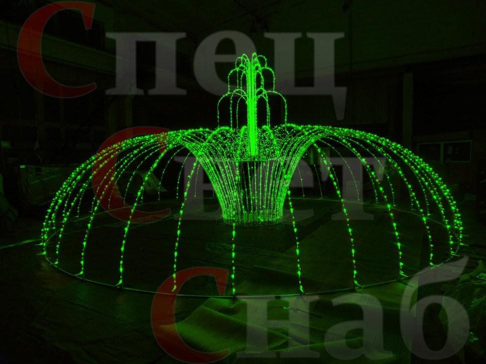 Светодиодный Фонтан - лучшее украшение для любой площадки