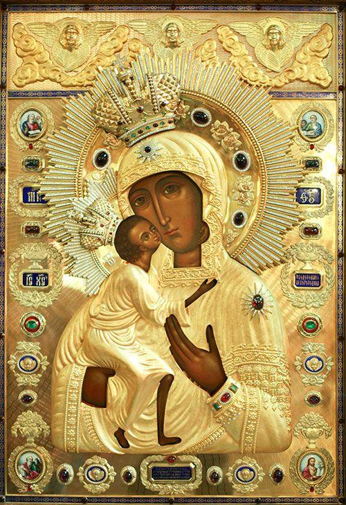 Праздник в честь иконы Божьей Матери Феодоровской
