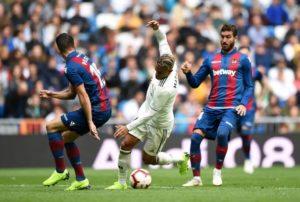 Смотреть онлайн-трансляцию встречи «Реал» — «Леванте»