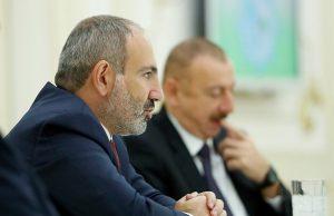 """Алиев пытался упрекнул Армению из-за памятника Гарегину Нжде. Пашинян жестко ответил, сравнивая его с Шуриком из """"Кавказской пленницы"""""""