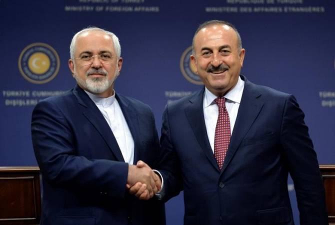 Главы МИД Ирана и Турции обсудили ситуацию в Сирии