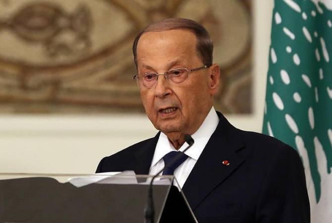 Президент Ливана заявил о готовности к диалогу с протестующими