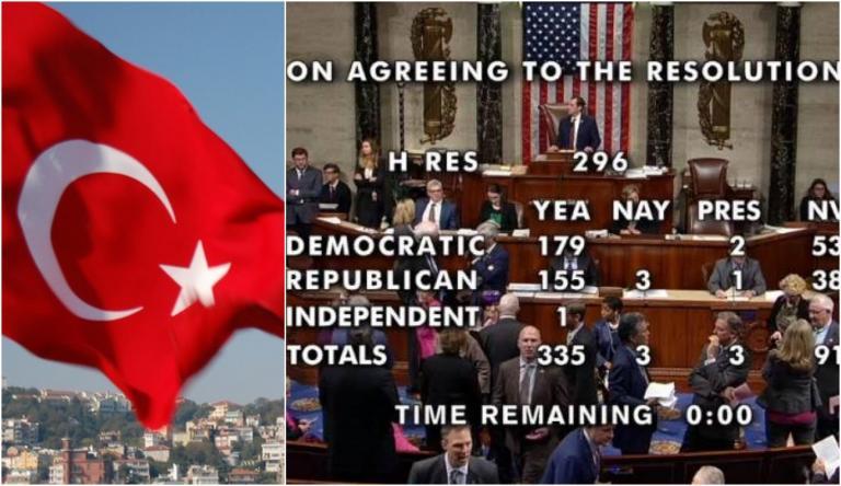 Посла США в Анкаре вызвали в турецкий МИД в связи с признанием в США Геноцида армян