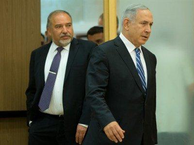 Встреча Нетаньяху и Либермана по формированию коалиции завершилась безрезультатно