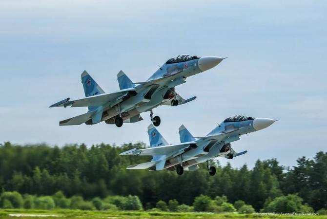 Российские истребители Су-30СМ будут в Армении в конце года