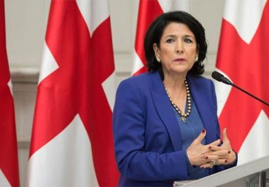 Президент Грузии заговорила о митингах в стране