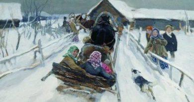 Прокопьев день отмечают 5 декабря, одной из традиций является кататься на санках и участвовать в гуляньях
