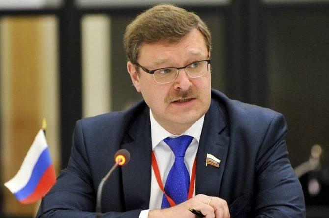 Косачев: вопрос восстановления авиасообщения России с Грузией требует скорейшего решения