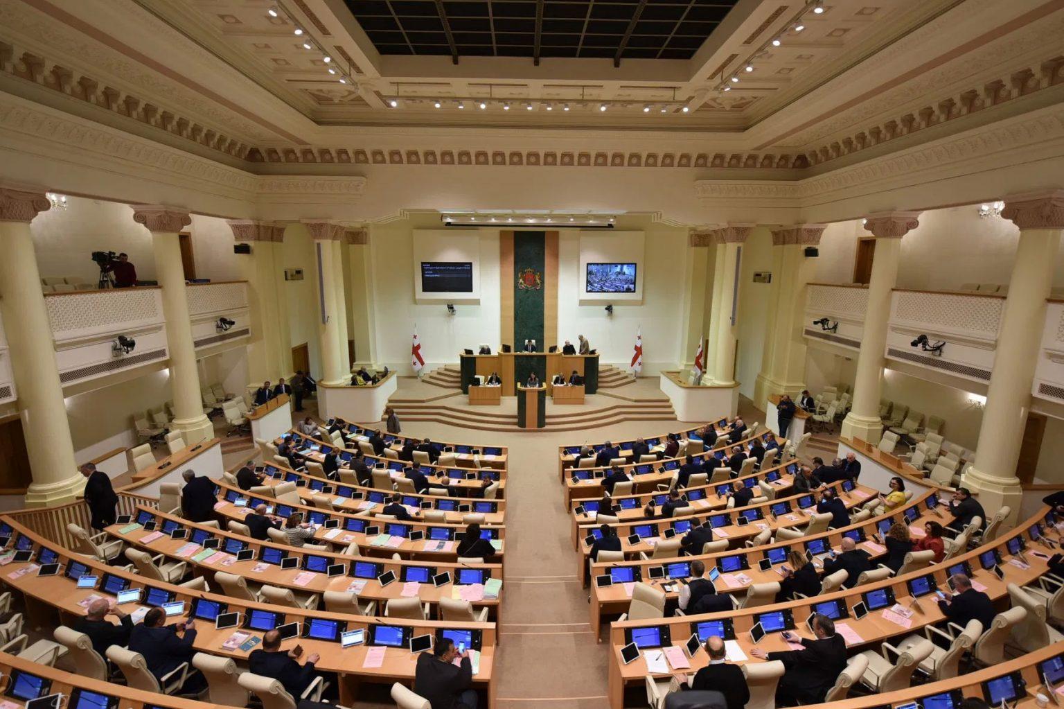 22 апреля парламент Грузии проголосует по вопросу о продлении режима ЧП8