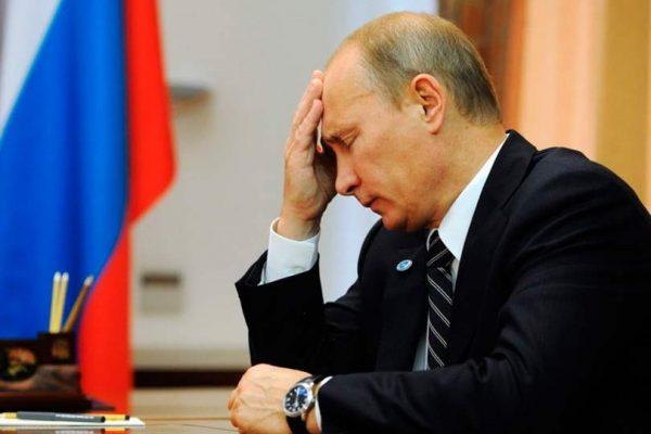 Уровень доверия к Путину упал до минимума за 14 лет8