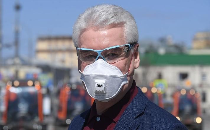 Собянин заявил о необходимости продлить режим самоизоляции в Москве