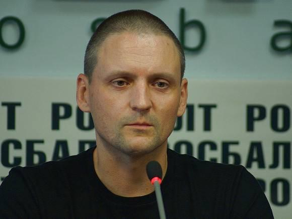 Удальцова арестовали на 10 суток из-за акции в поддержку Фургала