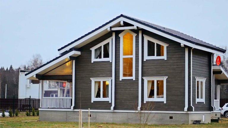 Строительство домов под ключ в Санкт-Петербурге и Ленинградской области