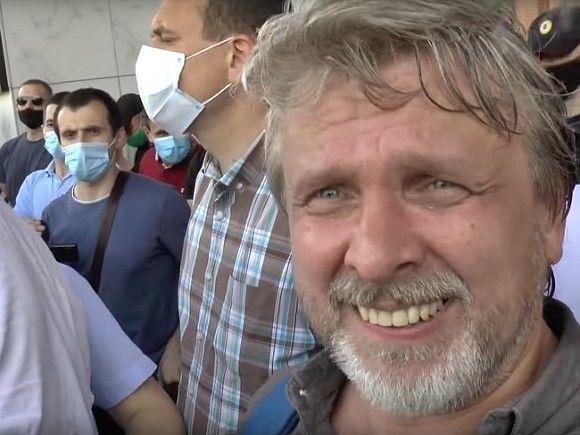 В Хабаровске задержан видеоблогер, освещавший протесты