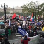 В Хабаровске прошел очередной митинг в поддержку Фургала