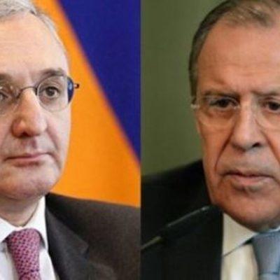 Лавров обсудил с главой МИД Армении обострение конфликта в Карабахе