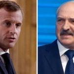 Макрон призвал Лукашенко покинуть пост президента