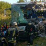 Шесть человек погибли в ДТП с автобусом в Калининградской области