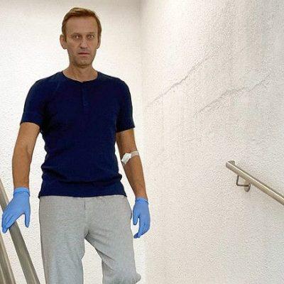 Навальный рассказал о «секретном» визите Меркель в клинику