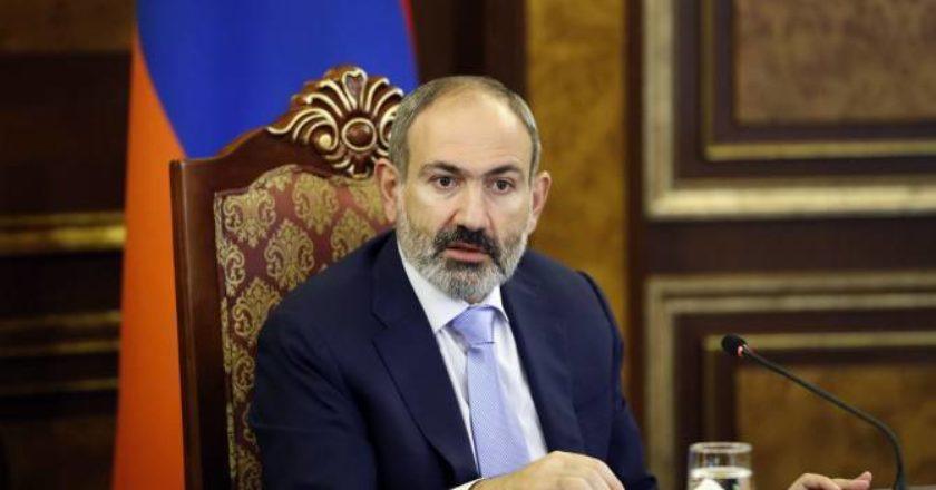 Пашинян призвал народ Армении к оружию