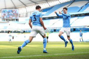 Голы защитников принесли победу «Манчестер Сити»
