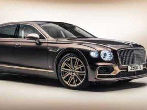 Гибридная вариация седана Bentley Flying Spur уже получила спецверсию