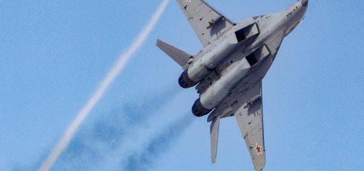 В Астраханской области разбился истребитель МиГ-29. Пилот погиб