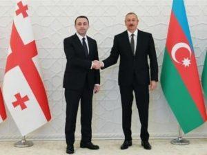 Гарибашвили и Алиев встретились в Баку