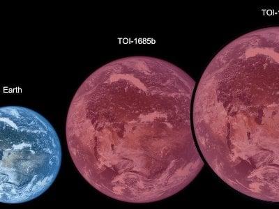 Астрономы обнаружили две суперземли с ультракороткими орбитальными периодами