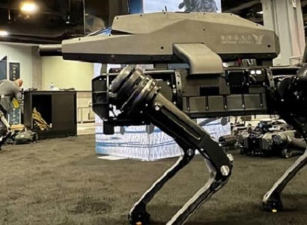 Американцы создали робота-собаку со снайперской винтовкой