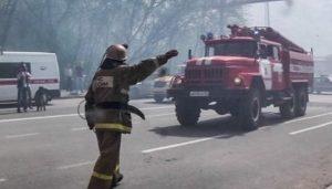 При пожаре в ковидном госпитале в Кирове погибли два человека