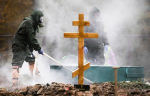 В России от COVID-19 за сутки умерли 895 человек. Это максимум за все время пандемии