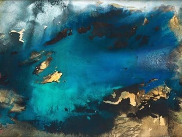 Картину китайского художника Чжан Дацяня продали на торгах в Гонконге за $27,5 млн