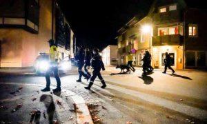 В Норвегии вооруженный луком и стрелами мужчина напал на прохожих. Есть раненые и убитые