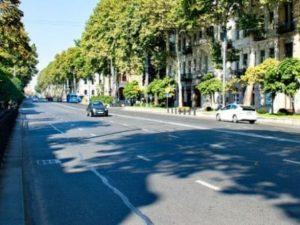 В центре Тбилиси перекрыт проспект Руставели